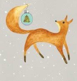 Christmas Card Fox/Xmas Ball