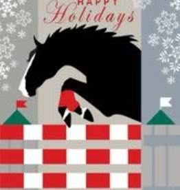 Christmas Card Jumper Snow