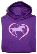 Stirrups Sweatshirt Horse in Heart Youth Hoodie