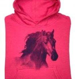 Stirrups Horse Head Vintage Youth Hoodie