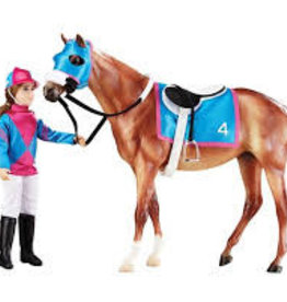 Breyer Breyer Lets Go Riding Collection Racing