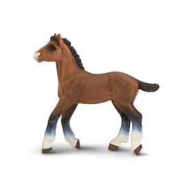 Safari Clydesdale Foal Toy