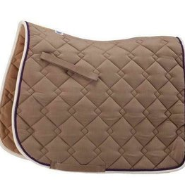 ROMA Roma Ecole Double Diamond Saddle Pad
