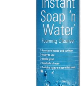 INSTANT SOAP 'N WATER FOAMING CLEANSER 9-OZ
