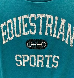 Stirrups Equestrian Sports Ladies SS Crew