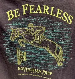 Stirrups Be Fearless Equestrian Prep collection Tee Adult