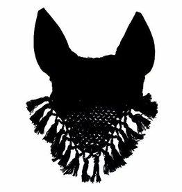 Horse Fare Crochet Fly Bonnet w/ tassel