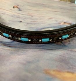 KL Select BROW BAND BEAD/CRYSTALS KL Horse Size