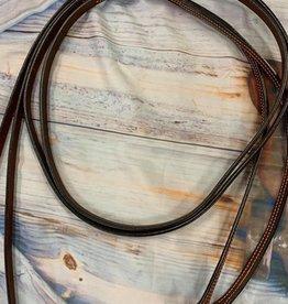 Split Reins western leather TEXAS STAR Weaver