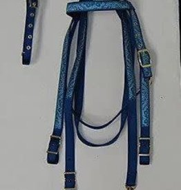 Bridle Nylon with ribbon trim