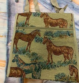 """Tapestry Tote Bag 13"""" tall"""