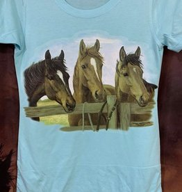 Horse Design T Shirts - Ladies