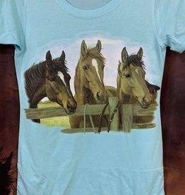 Horse Design T Shirts - Ladies