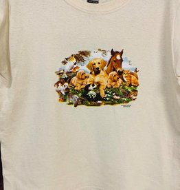 Kids T Shirt Baby Animals