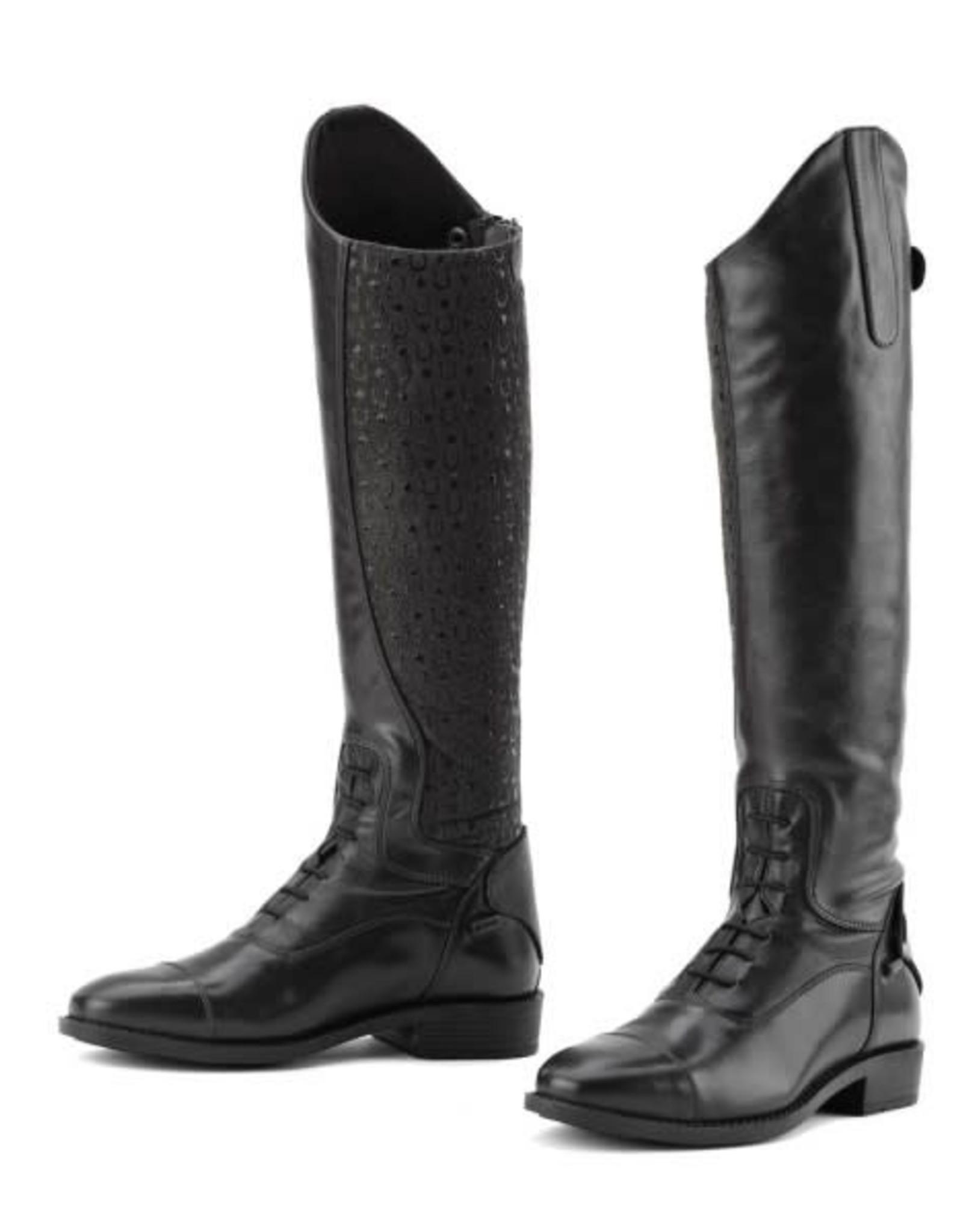 Ovation Sofia Grip Black Field Boot- Ladies'