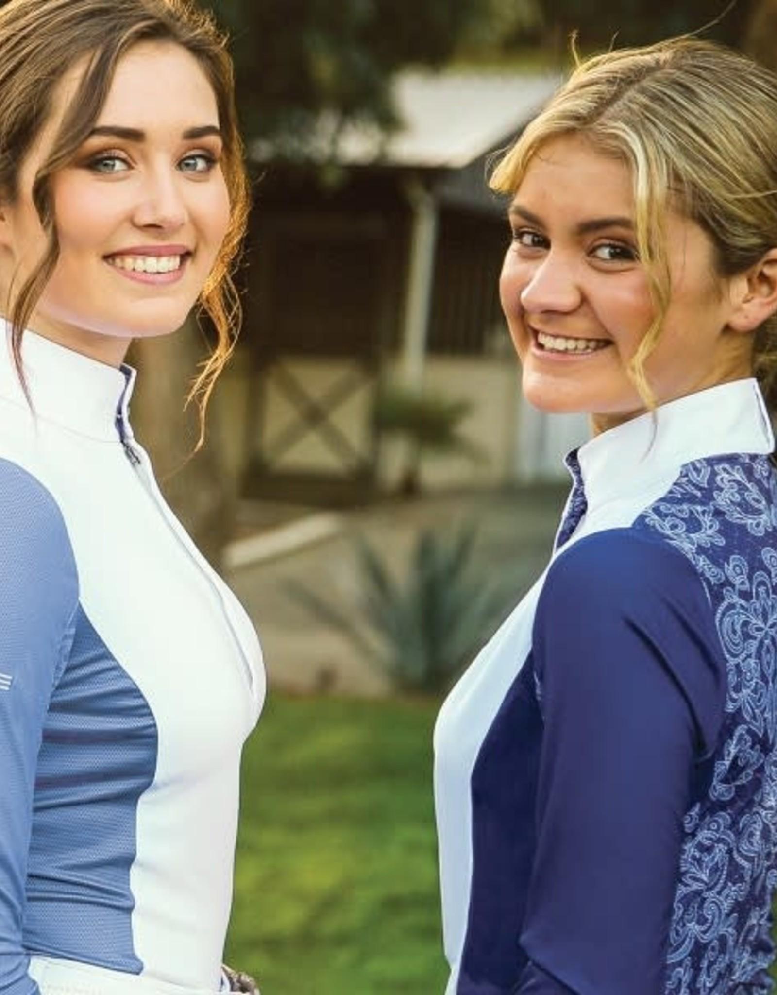 Romfh Lace Signature Show Shirt- Long Sleeve