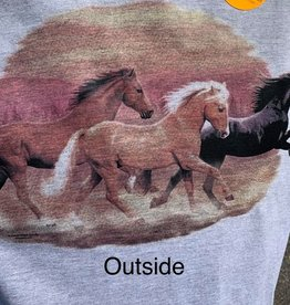 Solar T Shirt with horse design.