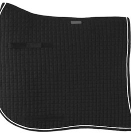 Fine Quilted Swallowtail Dressage Show Pad, 100% pressed cotton felt