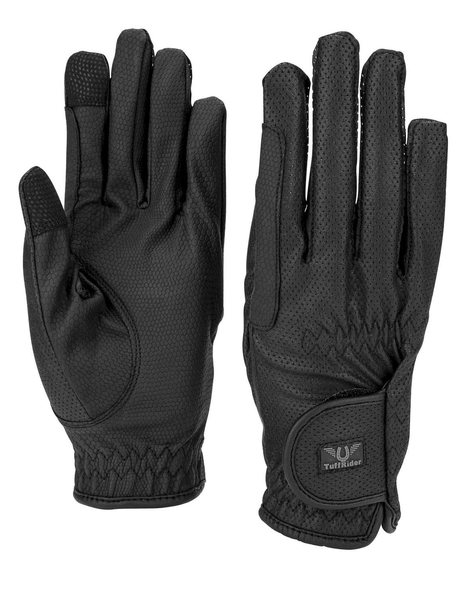 Tuff Rider Breathable gloves with grippy palm