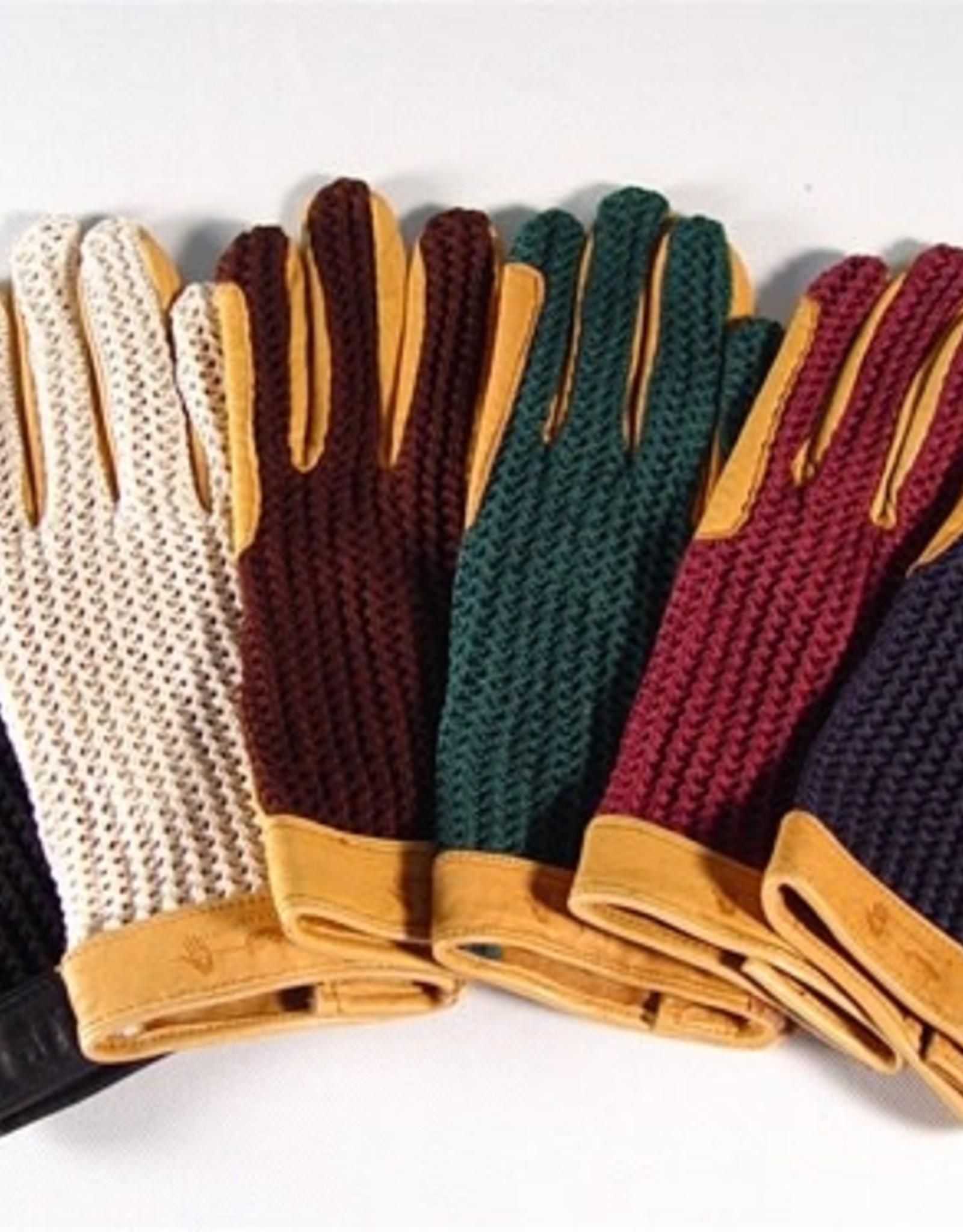 Gloves Euro_Crochet Riding Gloves