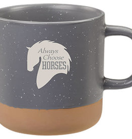 Always Choose Horses, Mug, 13oz
