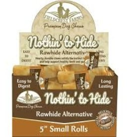 "Nothing To Hide Rawhide Alternative 5"" Peanut Butter"