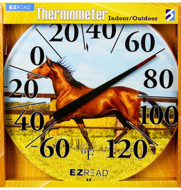 EZRead Dial Thermometer Horse