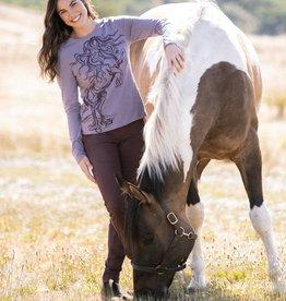 Kerrits Horse Haven Long Sleeve T Shirt