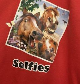 Kids Selfie Crewneck Sweatshirt