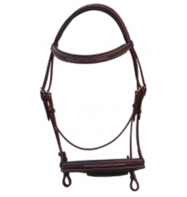 Royal Highness Bridle Raised Fancy Stitch RHC