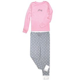 Stirrups Girl On Horse Pajama Set