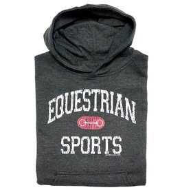 Stirrups Equestrian Sports With Bit Youth Hoodie