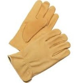 Gloves Men's Insulated Premium Driver Tan