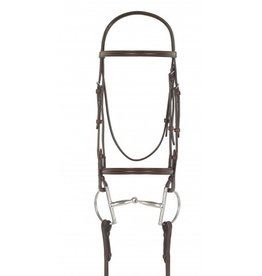 Camelot Camelot Plain Raised Bridle
