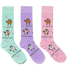 Ovation Childs Pony Power Socks