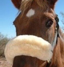 JMS Noseband Horse Sheepskin Wool Halter Fuzzy