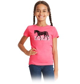 Stirrups HORSE Girls Short Sleeve Tee