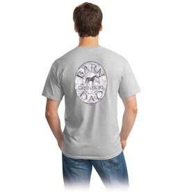 Stirrups Barn Dad Adult Short Sleeve Tee