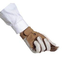 Ovation Crochet Back Gloves with hook & loop closure - Ladies'