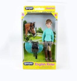 Breyer Heather English Rider With Tack