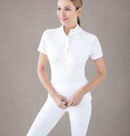 chestnut bay SkyCool Dressage Show Shirt Short Sleeve