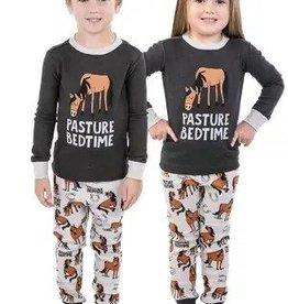 lazy One Pasture Bedtime PJ/ Pajama Set Childs
