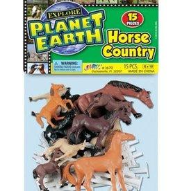 Horse Play Set 15 Pieces