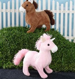 Plush Galloping Horse 6' tall