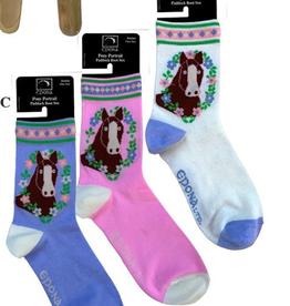 epona Junior Pony Portrait Paddock Boot Sock