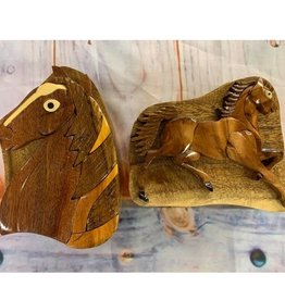 Wooden Puzzle Boxes 3D Med. Size