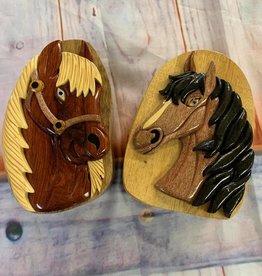 3D Design Wooden Puzzle Boxes Lg sz