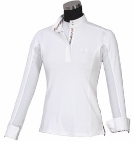 Equine Couture Equine Couture Long Sleeve Cara Show Shirt