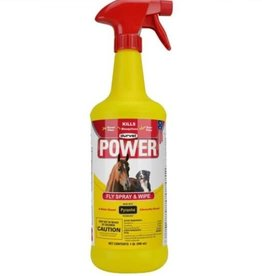 Power fly spray and wipe