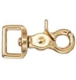 Solid Brass Swivel Rein Snap